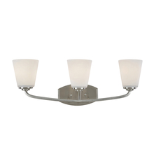 Artcraft AC10463BN - Hudson 3 Light  Brushed Nickel Wall Bracket