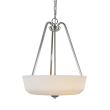 Artcraft AC10466BN - Hudson 3 Light  Brushed Nickel Pendant