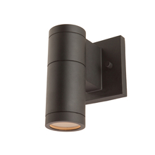 Artcraft AC8001BK - Nuevo 1 Light Chrome Outdoor Light