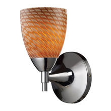 ELK Lighting 10150/1PC-C - Celina 1 Light Sconce In Polished Chrome And Coc