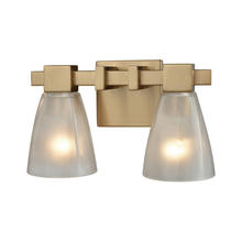 ELK Lighting 11991/2 - Ensley 2 Light Vanity In Satin Brass With Froste