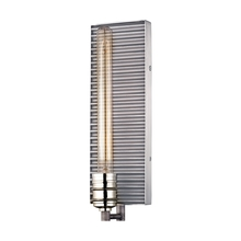 ELK Lighting 15921/1 - Corrugated Steel 1 Light Wall Sconce In Weathere