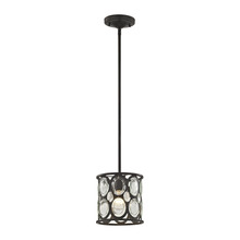 ELK Lighting 81123/1 - Serai 1 Light Pendant In Oil Rubbed Bronze With
