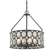 ELK Lighting 81125/5 - Serai 5 Light Chandelier In Oil Rubbed Bronze Wi