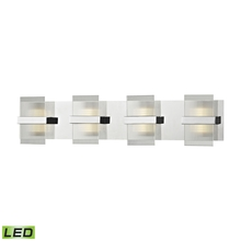 ELK Lighting 81142/LED - Desiree Led Vanity In Polished Chrome With Clear