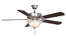 Fanimation BP220SN1-220 - Aire Décor - 52 inch - SN with Glass Bowl Light - 220v