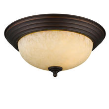 Golden 1260-13 RBZ-TEA - Flush Mount