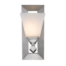 Golden 2112-BA1 PW-OP - 1 Light Bath Vanity