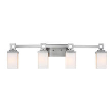 Golden 4444-BA4 PW - 4 Light Bath Vanity