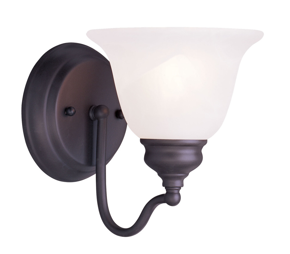 Lighting Solutions in Ringoes, New Jersey, United States,  1351-07, 1 Light Bronze Bath Light, Essex