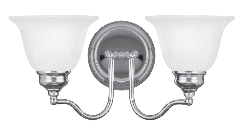 Lighting Solutions in Ringoes, New Jersey, United States,  1352-05, 2 Light Polished Chrome Bath Light, Essex