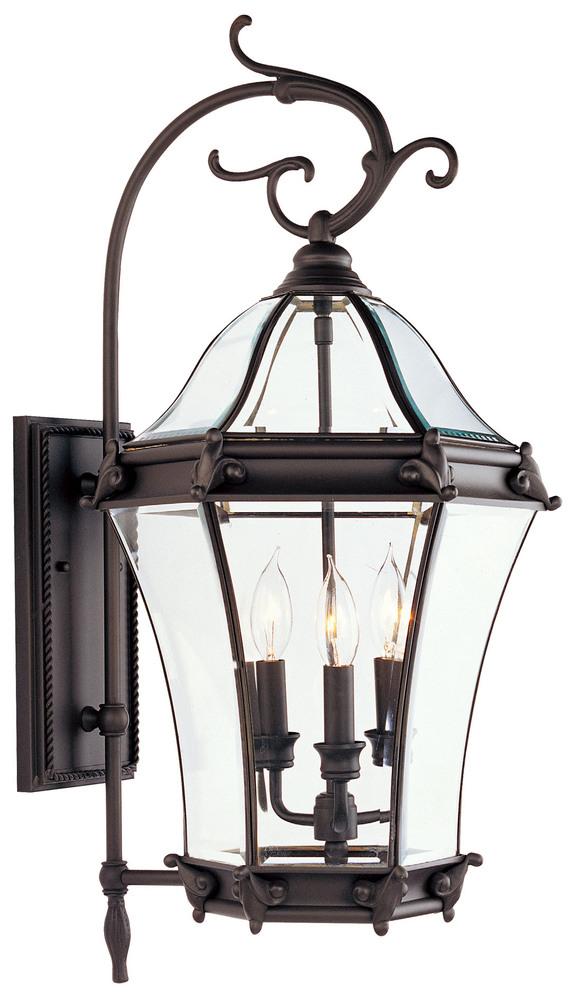 3 light bronze outdoor wall lantern 2623 07 lighting solutions 3 light bronze outdoor wall lantern workwithnaturefo