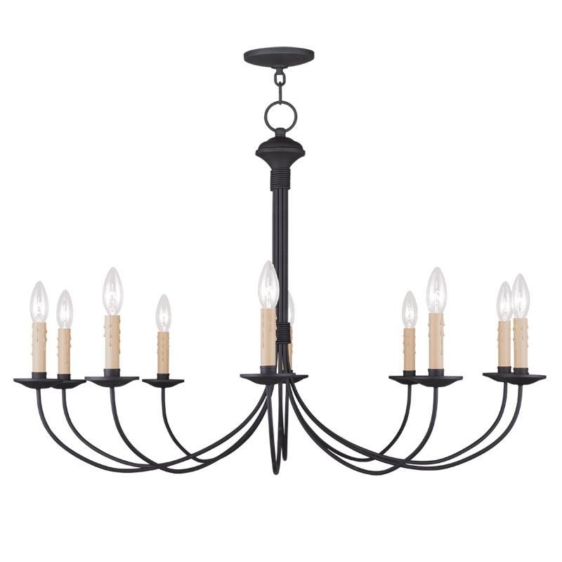 black chandelier lighting long horizontal black chandelier 453604 lighting solutions
