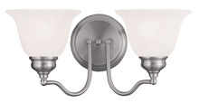 Livex Lighting 1352-91 - 2 Light Brushed Nickel Bath Light