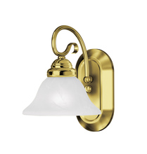 Livex Lighting 6101-02 - 1 Light Polished Brass Bath Light