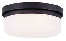 Livex Lighting 7391-07 - 2 Light Bronze Ceiling Mount