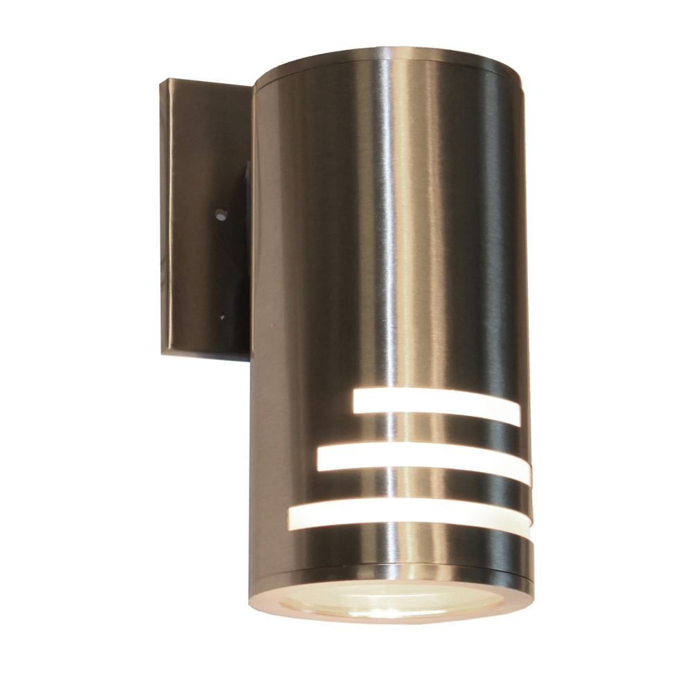 Lighting Solutions in Ringoes, New Jersey, United States,  AC8004SS, Nuevo 1 Light Stainless Steel Outdoor Light, Nuevo