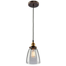 Artcraft AC10161 - Greenwich 1 Light AC10161 Oil Rubbed Bronze Pendant