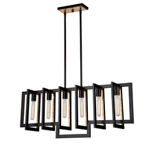 Artcraft AC10396 - Capetown 6 Light  Oil Rubbed Bronze Island Light
