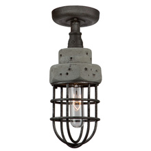 Artcraft AC10670 - Loft AC10670 1 Light Semi Flush