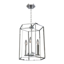 Artcraft AC10770CH - Modern Elegance 3 Light  Chrome Chandelier