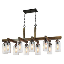 Artcraft AC10860DP - Home Glow AC10860DP 10 Light Chandelier