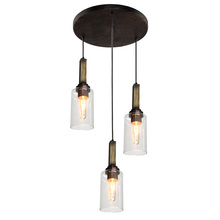Artcraft AC10863DP - Home Glow AC10863DP 3 Light Pendant