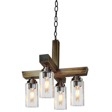 Artcraft AC10864DP - Home Glow AC10864DP 4 Light Chandelier