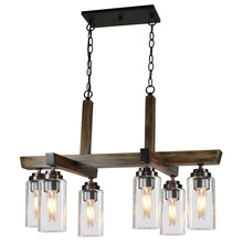 Artcraft AC10866DP - Home Glow AC10866DP 6 Light Chandelier