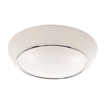 Artcraft AC2151 - 2 Light Chrome Flush Mount