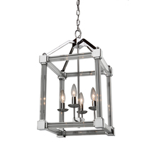 Artcraft CL15074CH - Prince Arthur 4 Light  Chrome Chandelier
