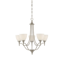 Savoy House 1-1001-5-SN - Herndon 5 Light Chandelier
