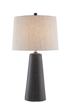 Lite Source Inc. LS-23180 - Table Lamp, Ceramic Body/beige Linen Shade, E27 Type A 150w