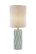 Lite Source Inc. LS-23190GREY - Table Lamp, L.grey Ceramic Body/fabric Shade, E27 Type A 60w