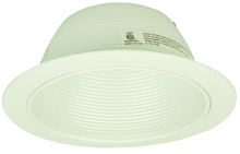 Teiber Lighting Products T-504WW - White Aluminum Baffle