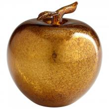 Cyan Designs 06448 - Gold Apple Sculpture