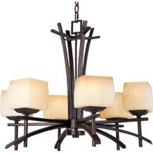 Maxim 10985WSRC - Asiana-Single-Tier Chandelier