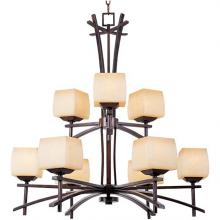 Maxim 10986WSRC - Asiana-Multi-Tier Chandelier