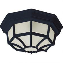 Maxim 87920BK - Flush Mount EE 1-Light Outdoor Ceiling Mount
