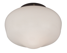 "Craftmade OLK3CFL-ABZ - 1 Light 9"" Outdoor Schoolhouse Bowl Kit in Aged Bronze Brushed with Cased White Glass"