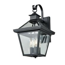 DVI DVP34172BK-CL - Manor House 17.75 inch outdoor wall sconce