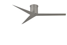 Matthews Fan Company EKH-BN-BN - Eliza-H Three Bladed Rodless, Flushmount Paddle Fan in Brushed Nickel With Brushed Nickel Blades