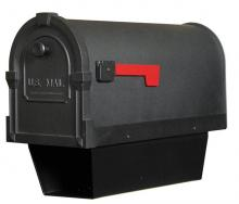 Special-Lite SCS-2014-BLK - SCS-2014-BLK Savannah Curbside Mailbox With Paper Tube
