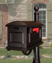 Special-Lite SCT-1010-BLK - Traditional Curbside Mailbox