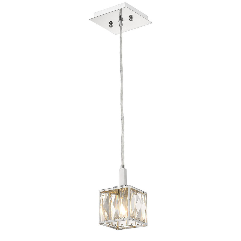 Lighting Solutions in Ringoes, New Jersey, United States,  1035-M1L CH, Mini-Pendant, Neeva