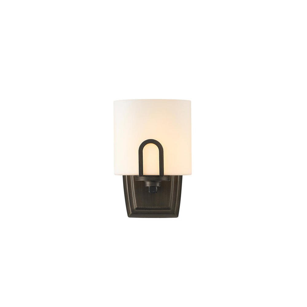 Lighting Solutions in Ringoes, New Jersey, United States,  9363-1W GMT-OP, 1 Light Wall Sconce, Presilla