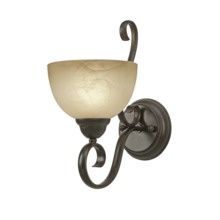 Golden 1567-1W PC - 1 Light Wall Sconce
