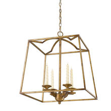 Golden 3071-4P GG - 4 Light Pendant