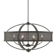 Golden 3167-LP EB-EB - Linear Pendant (with shade)