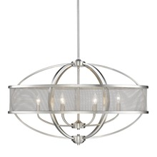 Golden 3167-LP PW-PW - Linear Pendant (with shade)